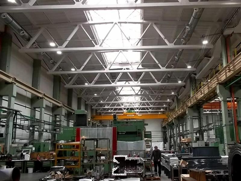 EKOL energo s.r.o. – výrobní hala