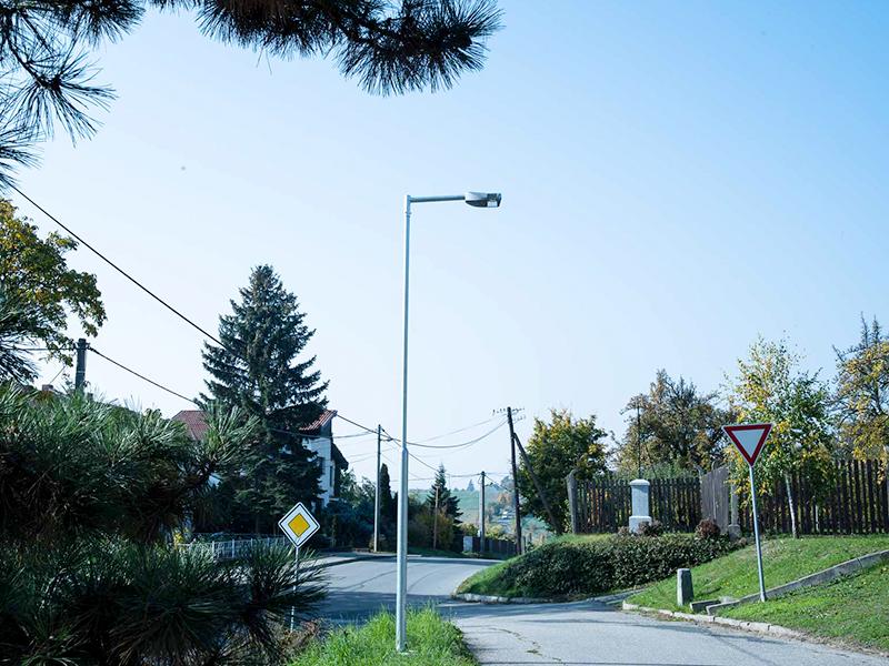 Obec Viničné Šumice – pouliční osvětlení