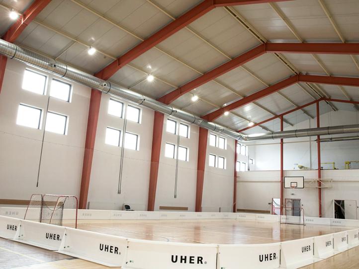 Holubice – sportovní hala