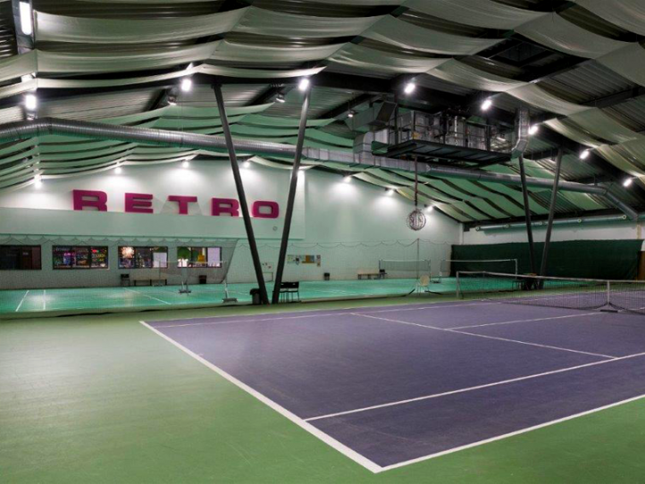 SPORT RETRO, s.r.o. (Osvětlení tenisového hřiště a badmintonových kurtů)