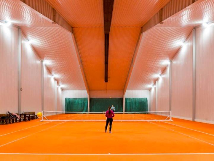 Tenis Café Cífer (Osvětlení tenisové haly)